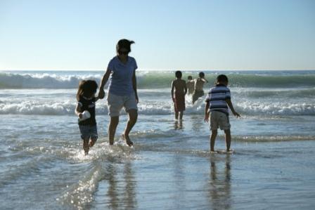Beach near Sam Dental Tijuana